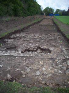 Roman Fort Derventio near Malton dig